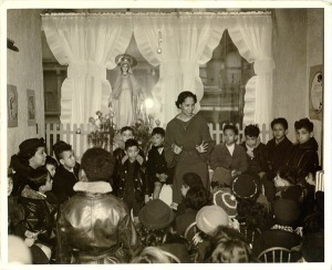 Pura Belpré was was a pioneering Nuyorican librarian, storyteller, and puppeteer.  She was also the spouse of African American classical violinist, Clarence Cameron White.